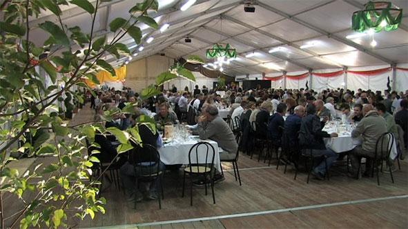 sala da pranzo padiglione gran gala'