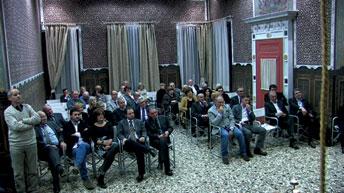 pubblico sala crociata Villa Nievo