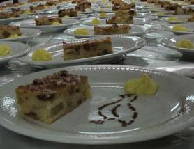 Il dolce del Gran Galà di Levà in festa 2011